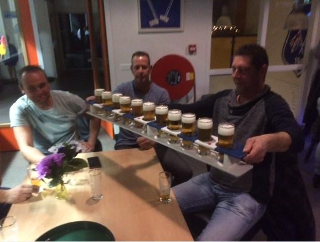 Ronald Yntema wint meter bier